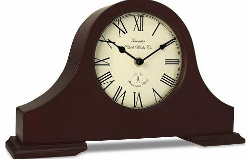 Acctim 77086 Dalton Mantel Clock, Dark Wood