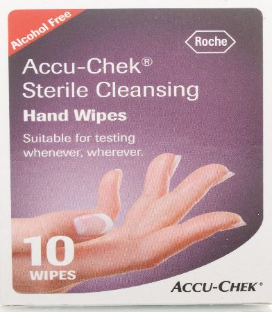 Sterile Cleansing Hand Wipes