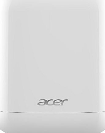 Acer Revo One RL85 1L Nettop PC (White) - (Intel Celeron 2957 1.4 GHz, 2 GB RAM, 60 GB SSD, Integrated Graphics, Windows 8.1)