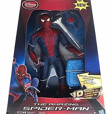 Spider-Man Web Blast Figurine, Includes firing web launcher and removable accessories