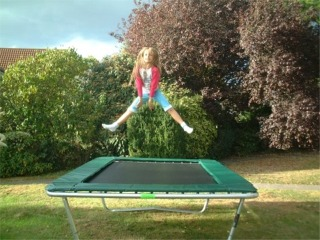 Action Sports Senior Deluxe Trampoline