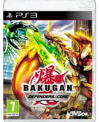Bakugan 2 Defender of the Core on PS3