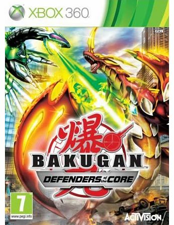 Bakugan 2 Defender of the Core on Xbox 360