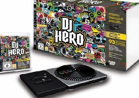 ACTIVISION DJ Hero - Turntable Kit (PS3)