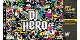 DJ Hero (Includes Turntable) on PS3