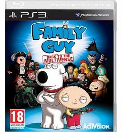 Family Guy Back To Multiverse on PS3