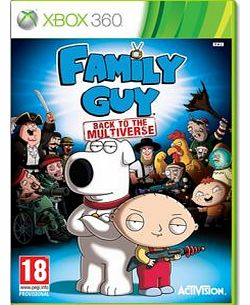 Family Guy Back To Multiverse on Xbox 360