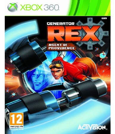Generator REX Agent of Providence Xbox 360