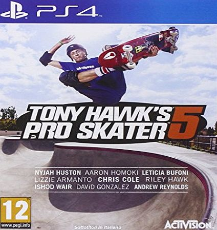 ACTIVISION GIOCO PS4 TH SKATER 5
