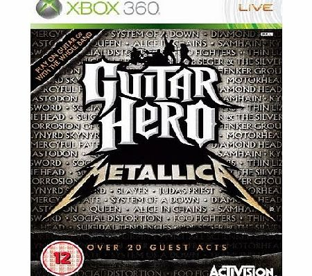 Guitar Hero: Metallica - Game Only (Xbox 360)