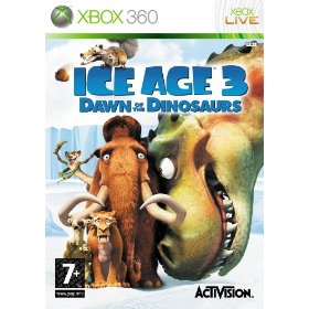 Ice Age 3 Dawn of the Dinosaurs Xbox 360