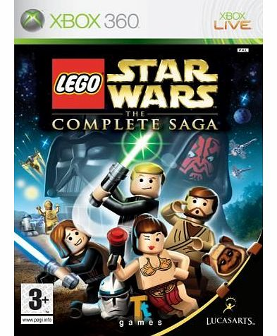 Lego Star Wars: The Complete Saga on Xbox 360