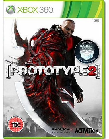 Prototype 2 - Limited Radnet Edition on Xbox 360