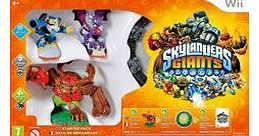 Skylanders Giants Starter Pack on Nintendo Wii