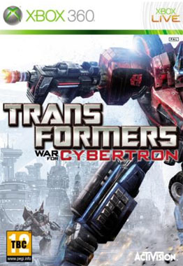 Transformers 3 War For Cybertron Xbox 360