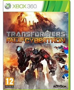 Transformers Fall of Cybertron on Xbox 360