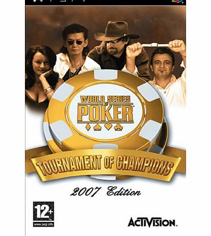 Activision World Series Of Poker Tournament Of Champions PSP