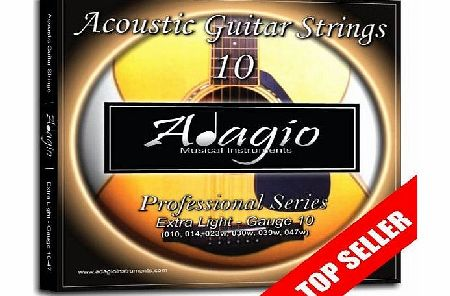 Professional Acoustic Guitar Strings Set 10-47