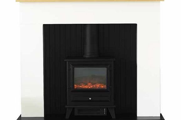 Adam Innsbruck Electric Fire Suite