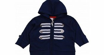 Adams Baby Girls Nautical Zip Through Jacket with
