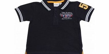 Adams Toddler Boys Navy Polo Shirt L10/C1