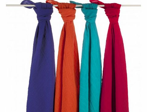 Maxi Swaddles in 4 matching colours `One size