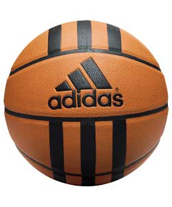 3 Stripe Basketball - Amber