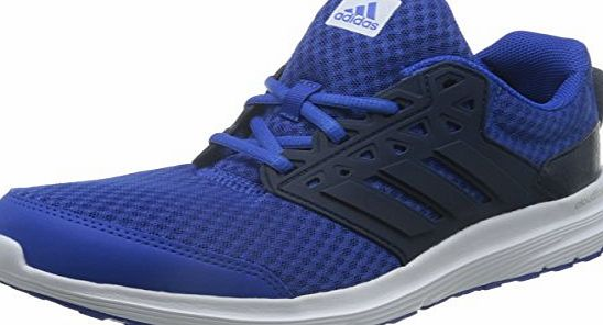 adidas  Galaxy 3, Men Training Running Shoes, Blue (Blue/Collegiate Navy/Ftwr White), 8 UK (42 EU)