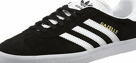 adidas  Gazelle, Unisex Adults Low-Top Sneakers, Black (Core Black/White/Gold Met), 10 UK (44 2/3 EU)