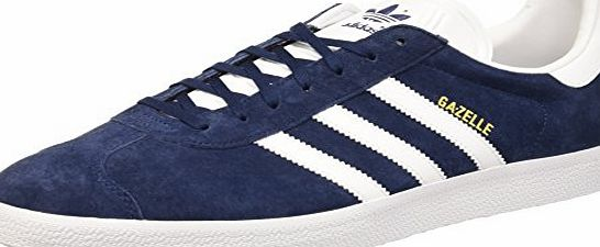 adidas  Gazelle, Unisex Adults Low-Top Sneakers, Blue (Collegiate Navy/White/Gold Met), 7 UK (40 2/3 EU)