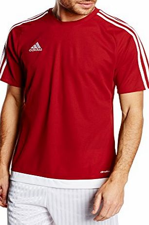 adidas  Mens Football Jersey Estro 15 Red Power Red/White Size:Medium