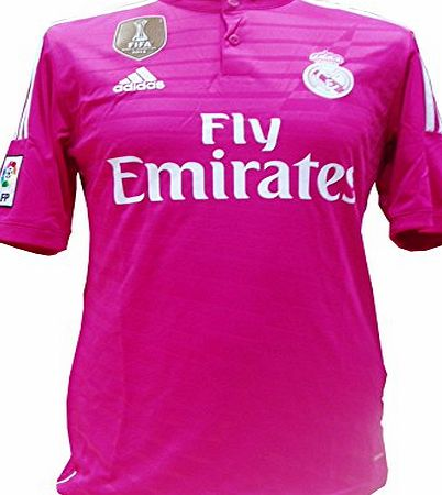 adidas  Mens Football T-Shirt - Pink, Large
