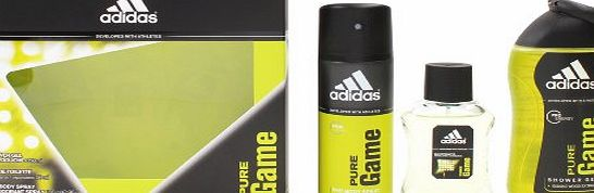 adidas  Pure Game Eau de Toilette Spray Gift Set 50 ml