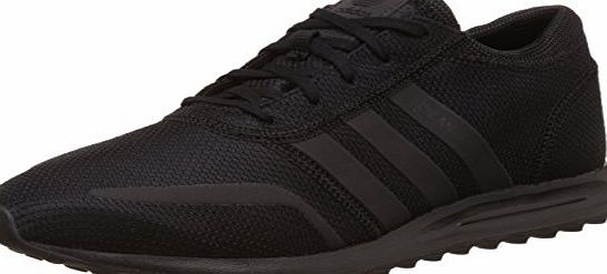 adidas  Unisex Adults Los Angeles Low-Top Sneakers, Black (Core Black/Core Black/Core Black), 6.5 UK 40 EU