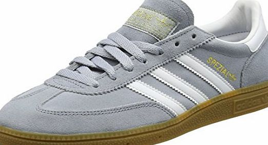 adidas  Unisex Adults Spezial Low-Top Sneakers, Grey (Light Grey/Ftwr White/Gold Met), 5 UK 38 EU