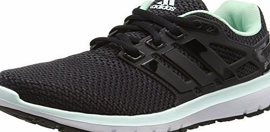 adidas  Women Energy Wtc Training Running Shoes, Black (Utility Black/Cloud Black/Ice Green), 5 UK 38 EU