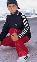 Boys Track Pant with Side Zip