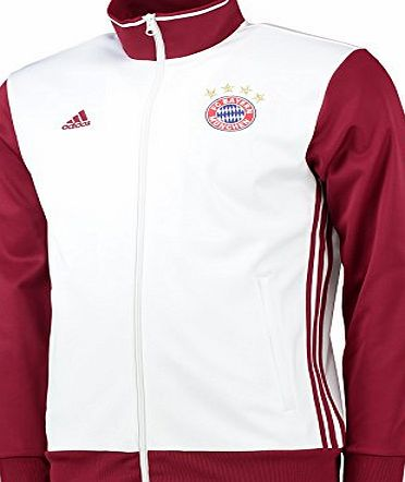 adidas FCB 3S TRK TOP - T-Shirt for Bayern FC for Men, L, White