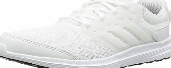 adidas Galaxy 3, Mens Training Running Shoes, White (ftwr White/crystal White/silver Met), 7 1/2 UK (41 1/3 EU)