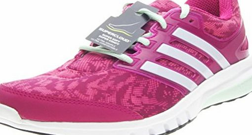 adidas Galaxy Elite 2 Womens Running Trainer Shoe Pink - UK 5