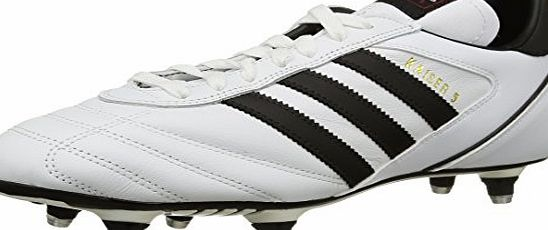 adidas Kaiser 5 Cup, Mens Football Boots, White (Ftwr White/Core Black/Core Black), 10 UK (44.5 EU)