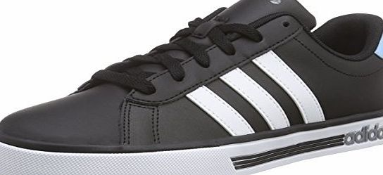 adidas Mens Daily Team Trainers Black Schwarz (Core Black / White / Blue) 11 UK