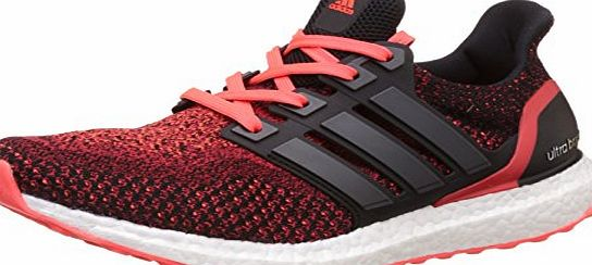 adidas Mens Ultraboost M running Shoes, Various colors (Black (Negbas / Negbas / Rojsol)), 9 UK