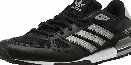 adidas Mens ZX 750 Gymnastics Shoes, Negro (Negbas / Grpumg / Grpumg), 8.5 UK