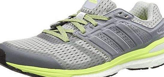 adidas Supernova Sequence Boost 8, Womens Running Shoes, Grey (Clear Grey S12/Ftwr White/Frozen Yellow F15), 6 UK (39.5 EU)