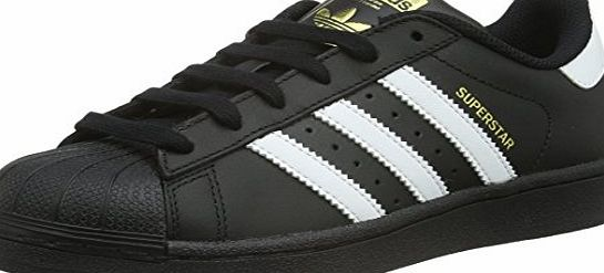 adidas Superstar Foundation, Boys Trainers, Black (Core Black/Ftwr White/Core Black), 5 UK (38 EU)