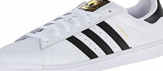 adidas Superstar, Mens Trainers, White (Ftwr White/Core Black/Ftwr White), 6 UK (39.5 EU)