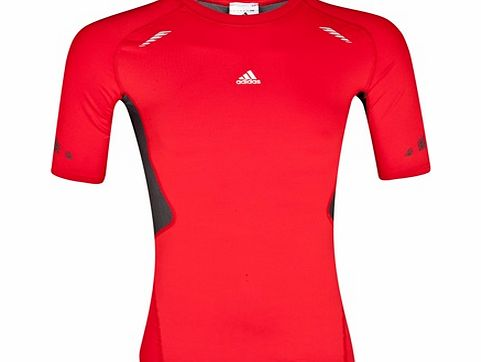 TechFit Preperation Baselayer Top Red