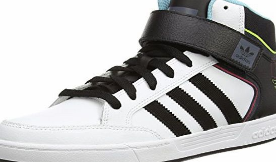 adidas Varial Mid, Mens High-Top Trainers, White (ftwwht/cblack/ltaqu), 9 UK (43.5 EU)