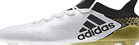 adidas X 16.1 FG Boot Football for Men, 42, White
